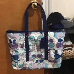 Coach Overnight Carry On Tote